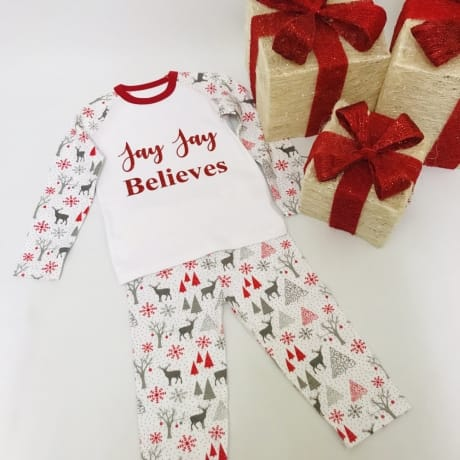 Personalised I believe Pyjamas