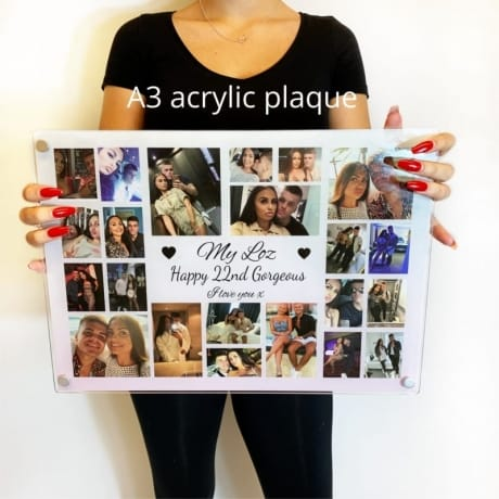 Personalised Christmas Collage - Precious and few