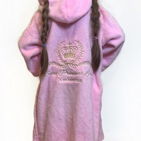Personalised Embroidered Princess Dressing Gown