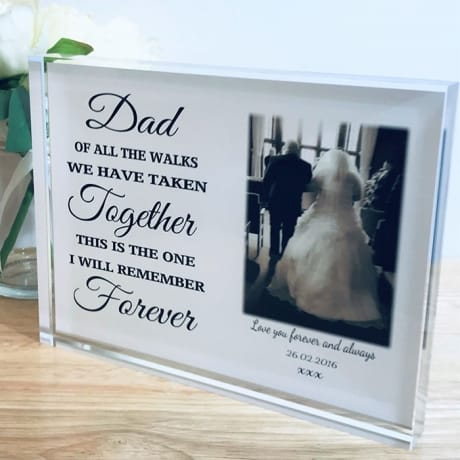 Personalised keepsake - of all the walks