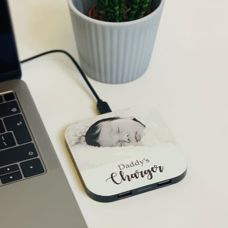 Daddy's Personalised Charging Pad