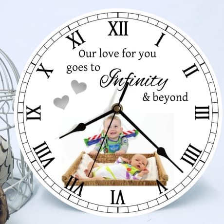 Personalised Clock - to infinity and beyond