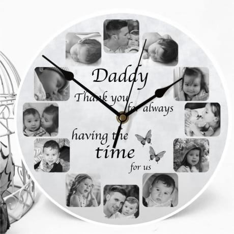 Personalised clock - Having the time for us