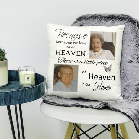 Personalised cushion - Heaven