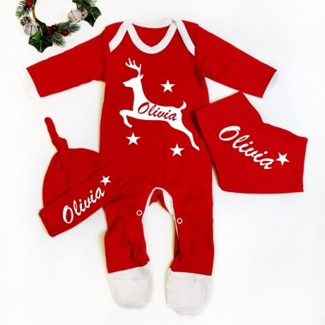 Personalised Reindeer Set