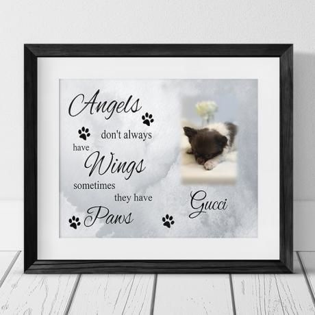 Personalised keepsake - Pet Angel
