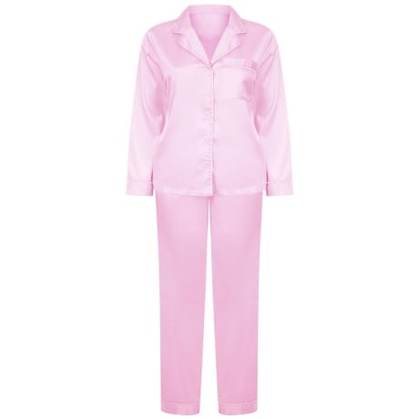 Personalised Pink Luxury Pyjamas