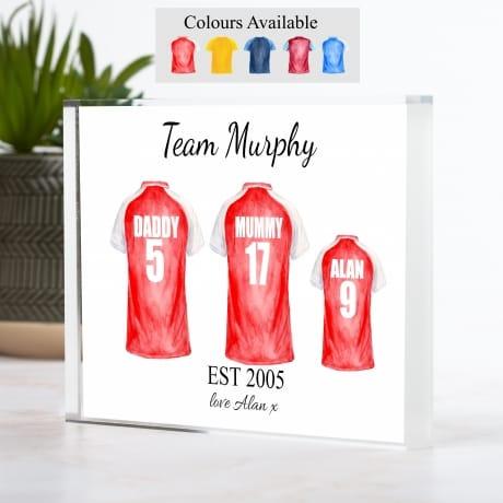 Football Shirt - 3 Team Family