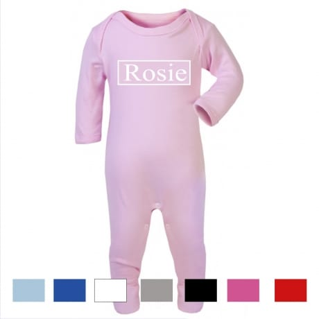 Personalised name rompersuit