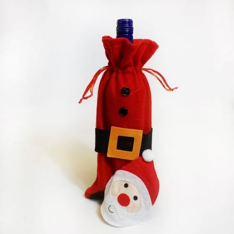 Bottle bag - Santa