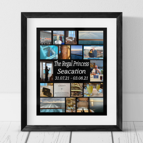 18 Photo Staycation Collage Frame