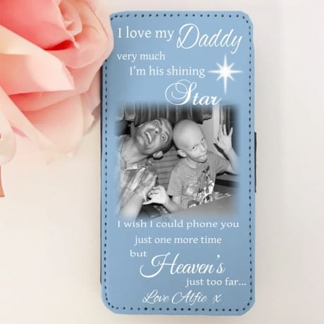 Personalised remembrance phone