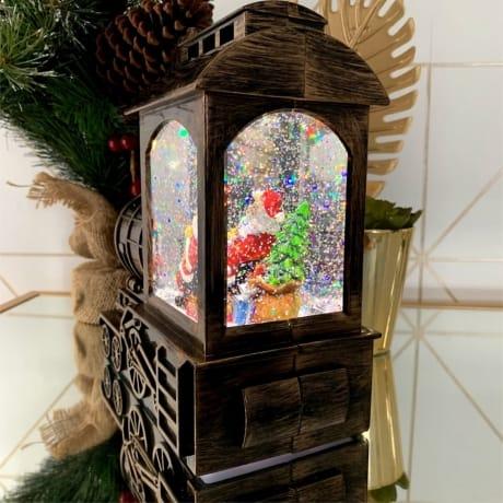 Train Snow Globe - 1st Christmas