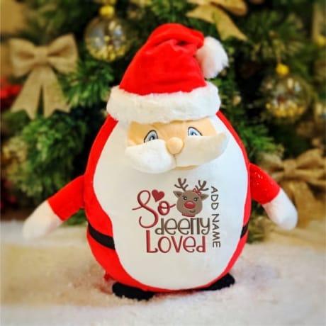 So Deerly loved personalised Santa