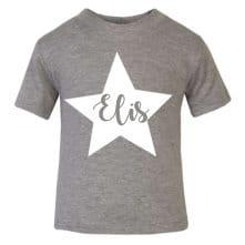 Personalised star name t-shirt