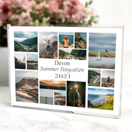 16 Photo Block Summer Staycation Collage