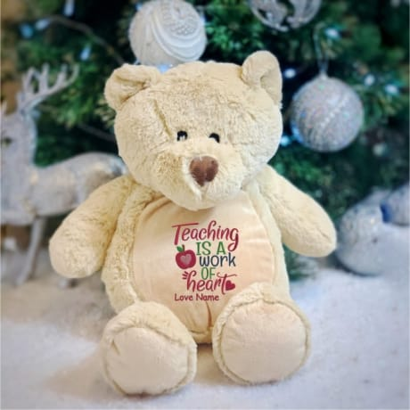 Teacher Personalised Bear