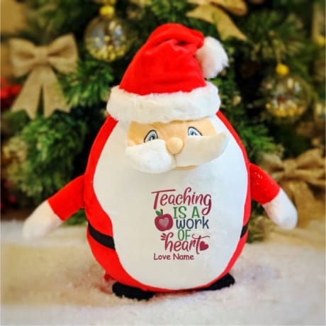 Teacher Personalised Santa