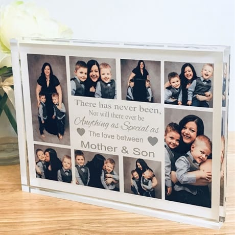 Personalised Photo Block - The Love Between