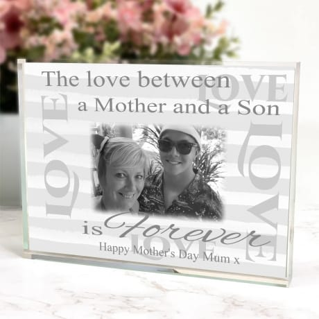 Mother's day Photo Block - The love between