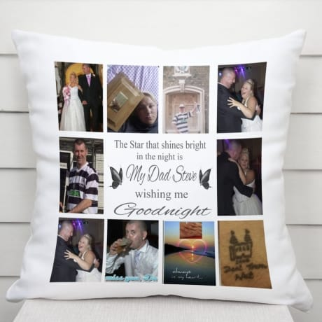 Personalised cushion - Goodnight
