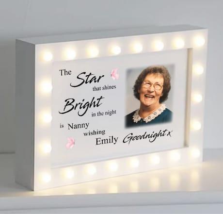 The Star that shines...Light box