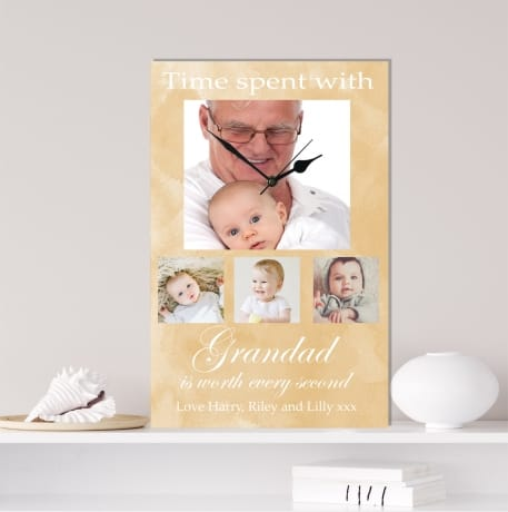 Photo clock, for any family member or loved one