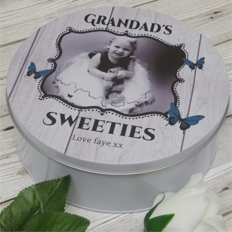 Personalised Sweet Tin