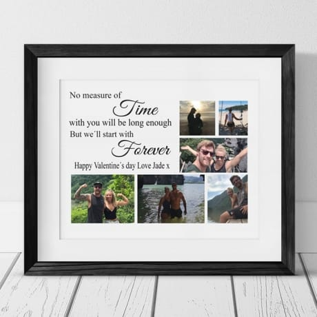 Personalised Collage - No measure of time