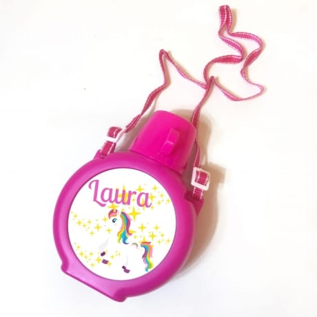 Personalised Kids Water Bottle - Unicorn