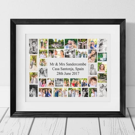 35 Photo Collage - Personalise With Your Own Text