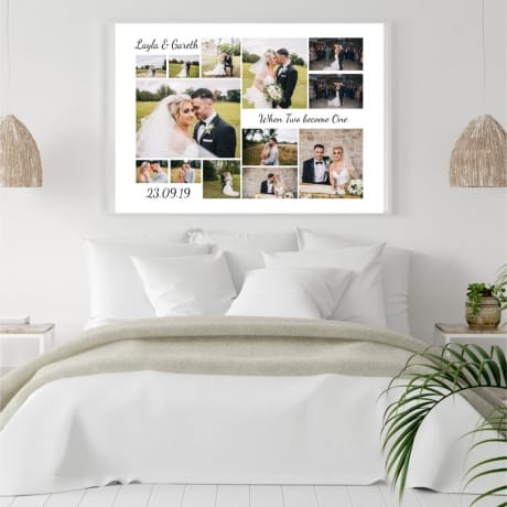13 Photo Canvas - Wedding